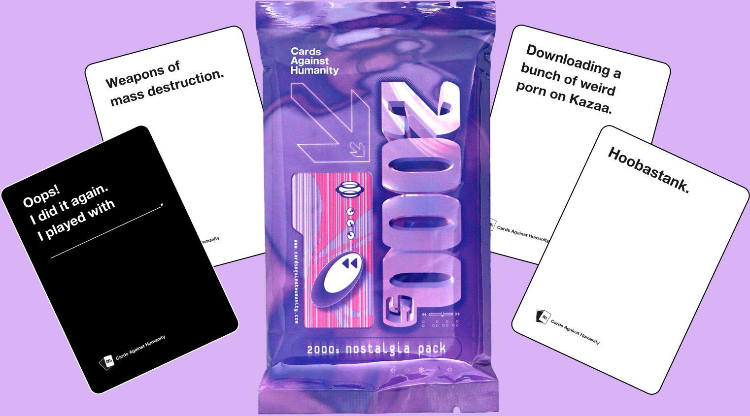 Cards Against Humanity - 2000s Nostalgia Pack-Cards Against Humanity-Game Kings