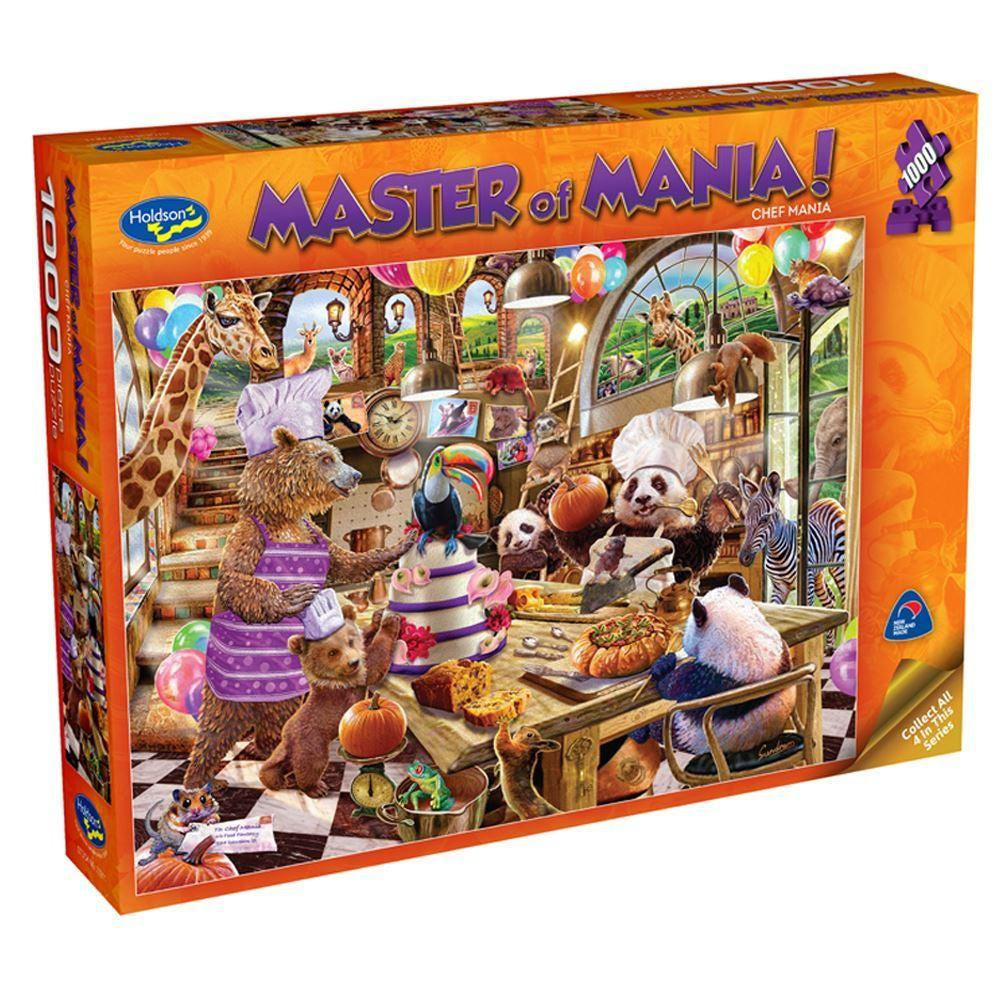 1000pc Puzzle - Chef Mania-Holdson's-Game Kings