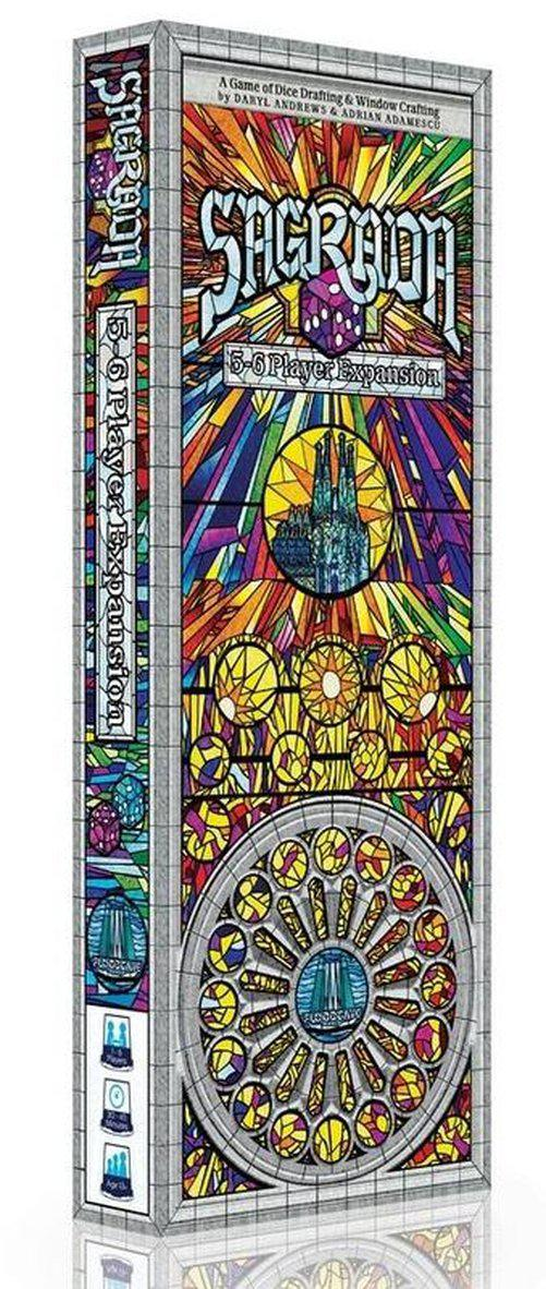 Sagrada 5-6 Player Expansion-Floodgate Games-Game Kings