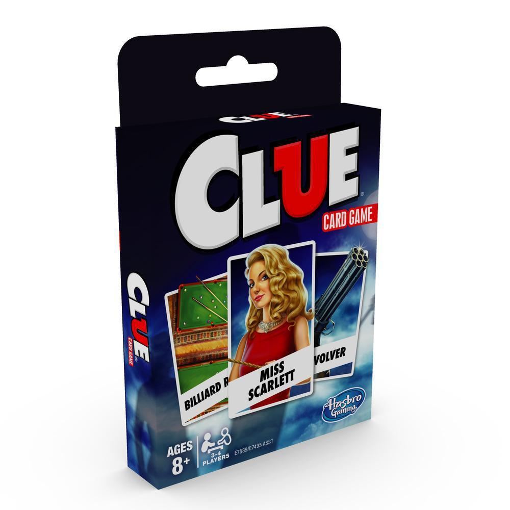 Clue - Classic Card Game-Hasbro-Game Kings
