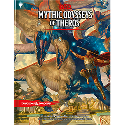Dungeons & Dragons Mythic Odysseys of Theros-Dungeons & Dragons-Game Kings