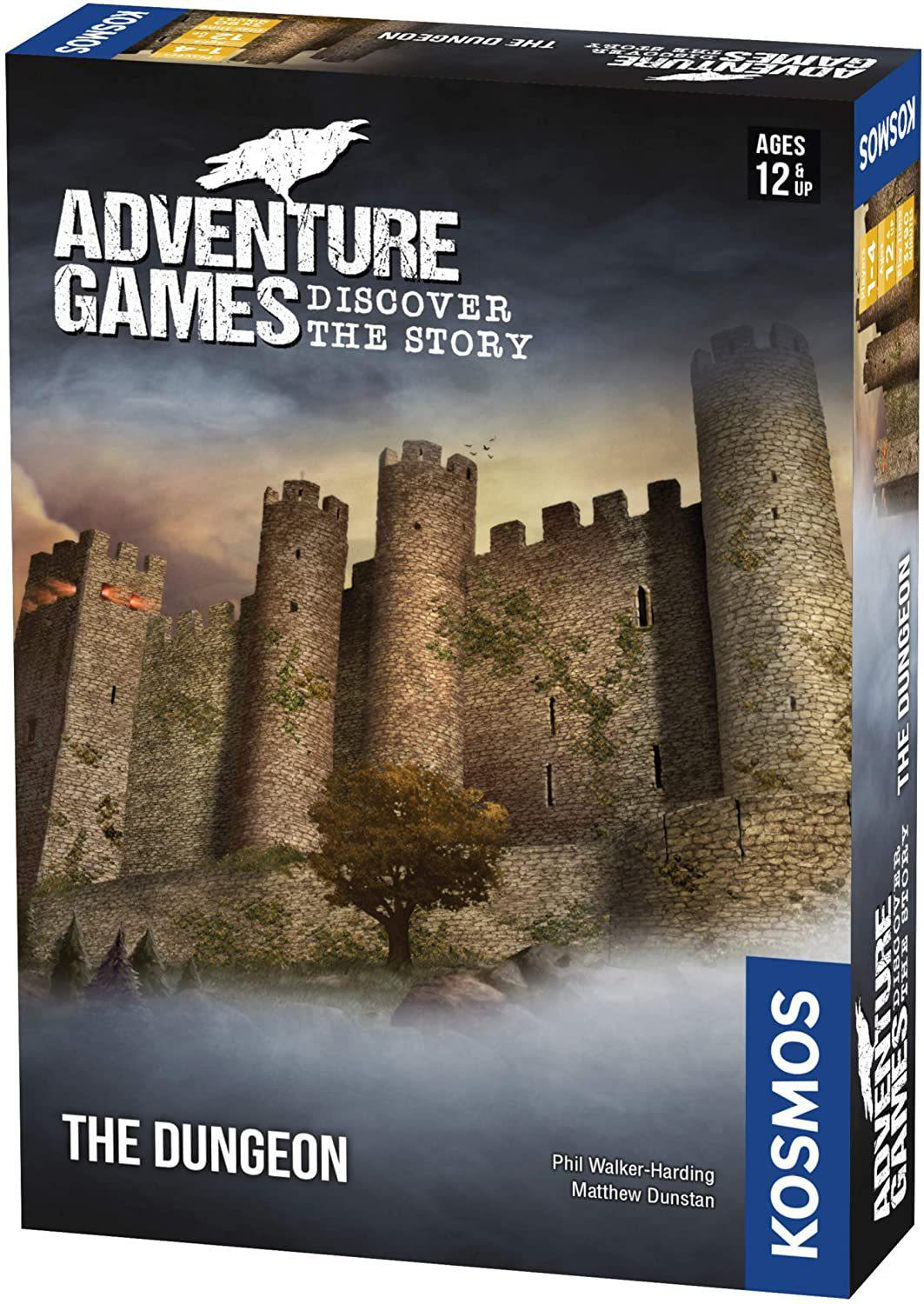 Adventure Games - The Dungeon-Kosmos Games-Game Kings
