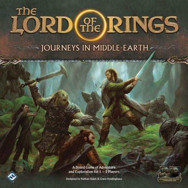 Lord of the Rings - Journeys in Middle Earth-Fantasy Flight Games-Game Kings