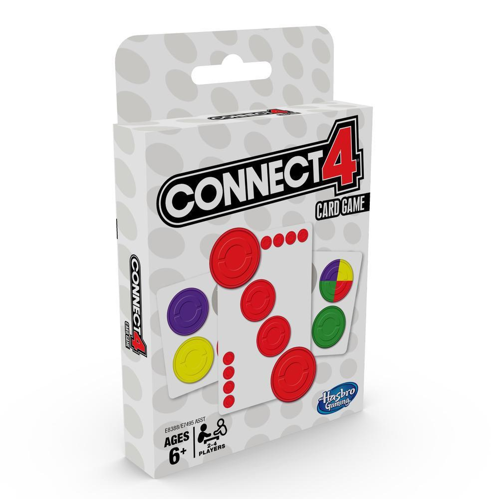 Connect 4 - Classic Card Game-Hasbro-Game Kings