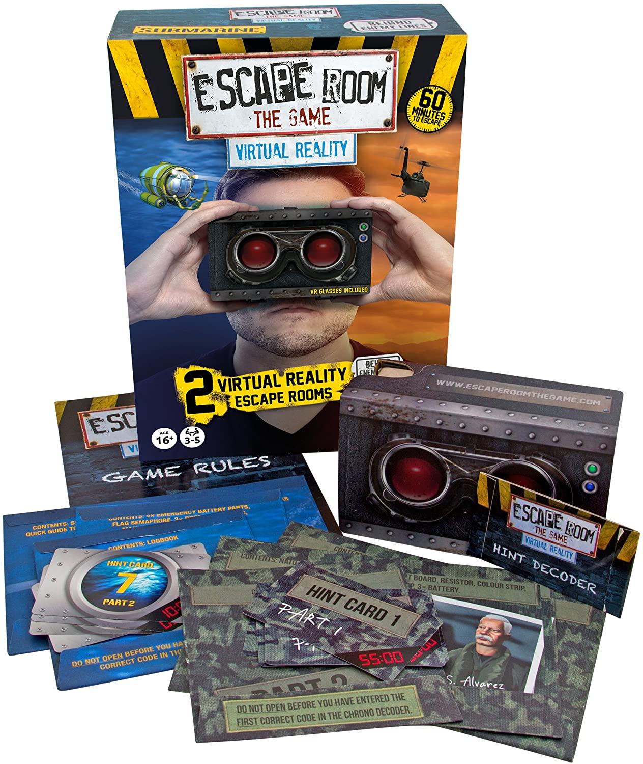 Escape Room the Game - Virtual Reality-VR Family Games-Game Kings