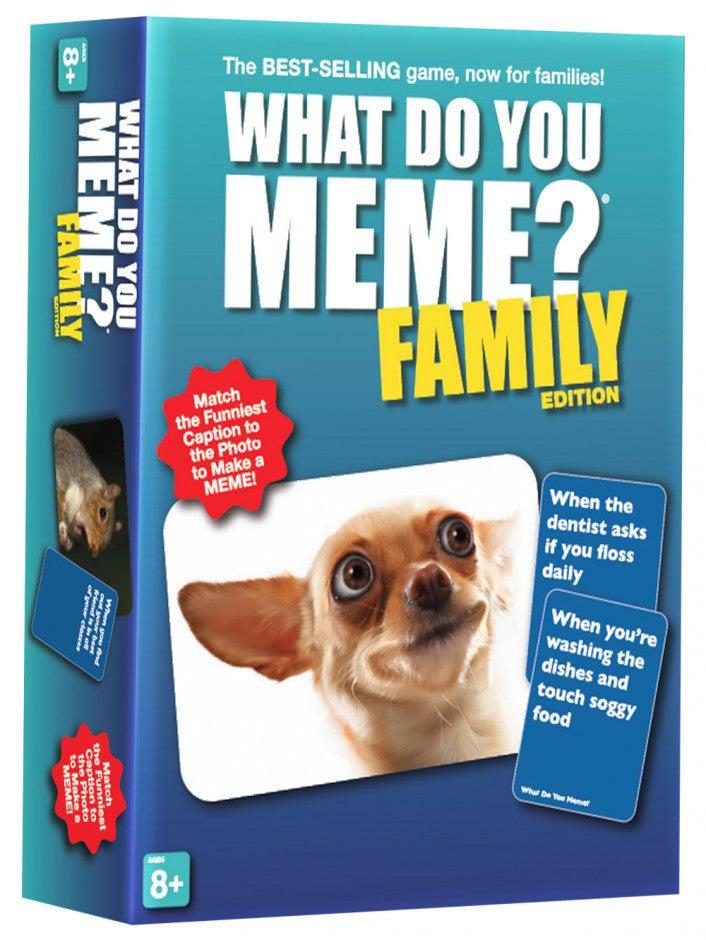 What Do You Meme? Family Edition-What do you Meme?-Game Kings