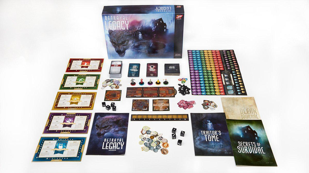 Betrayal Legacy-Avalon Hill-Game Kings