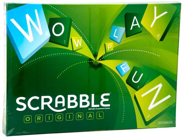 Scrabble - Original-Mattel-Game Kings