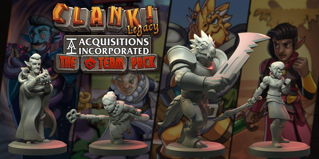Clank! Legacy - Acquisitions Incorporated The C Team Pack Expansion-Renegade Game Studios-Game Kings