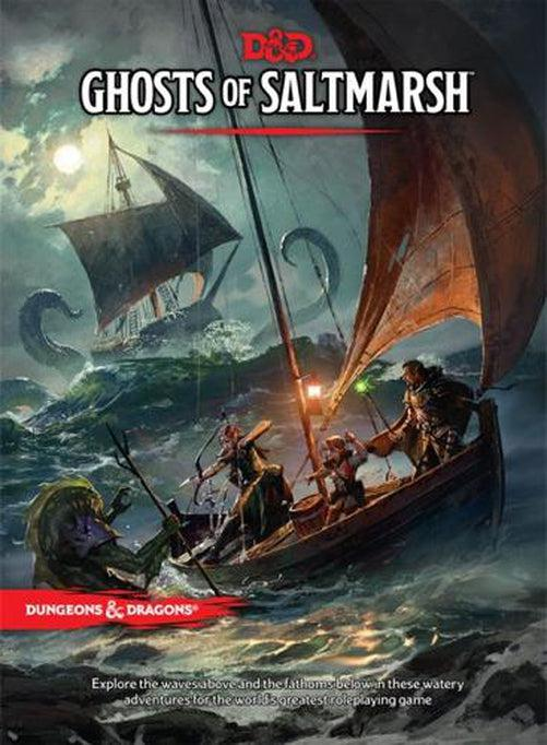 Dungeons and Dragons - Ghosts of Saltmarsh-Dungeons & Dragons-Game Kings