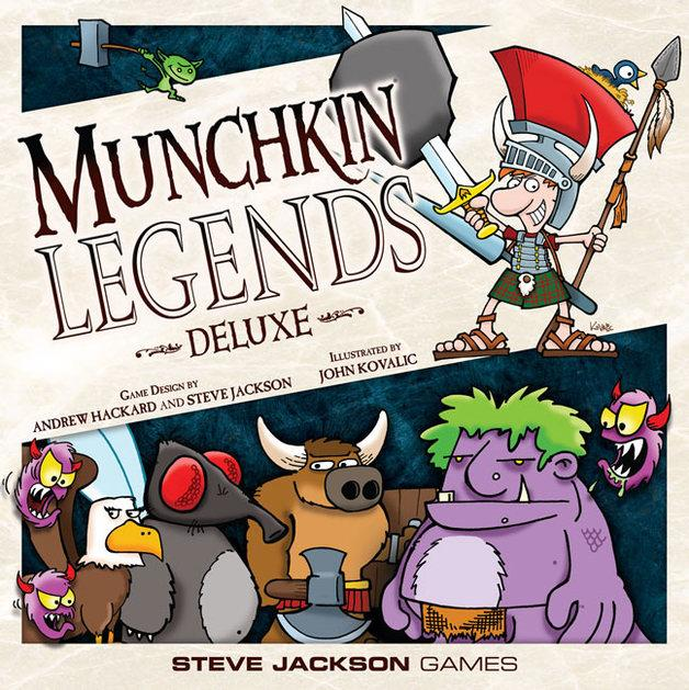 Munchkin Legends Deluxe-Steve Jackson Games-Game Kings