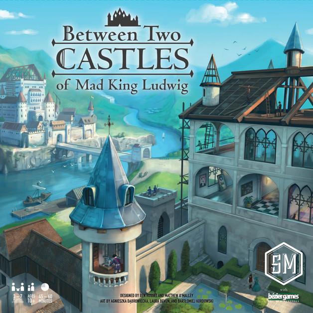 Between Two Castles of Mad King Ludwig-Stonemaier Games-Game Kings