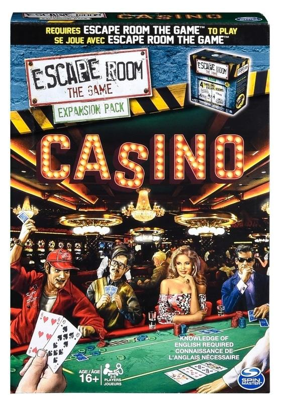 Escape Room the Game - Casino-Spin Master Games-Game Kings
