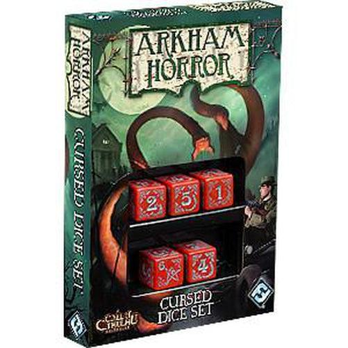 Arkham Horror Cursed Dice Set - Red-Fantasy Flight Games-Game Kings