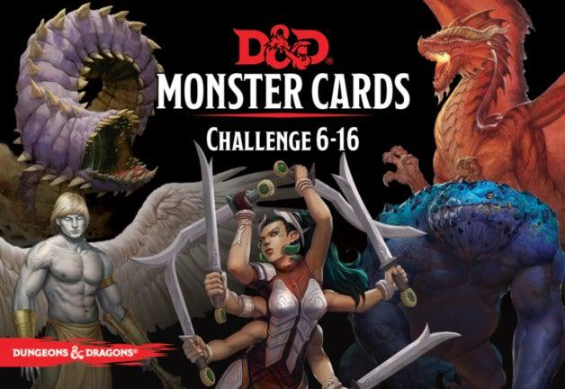 D&D Monster Deck 6-16-Dungeons & Dragons-Game Kings