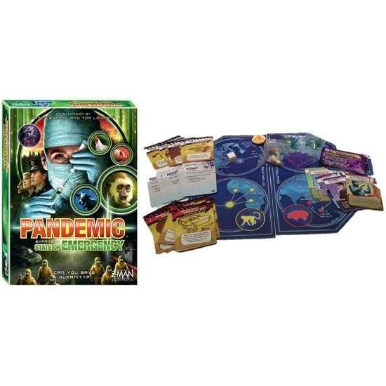 Pandemic - State of Emergency Expansion-Z-Man Games-Game Kings