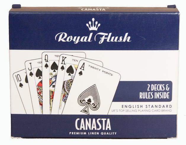 Royal Flush - Canasta Cards-Game Kings-Game Kings