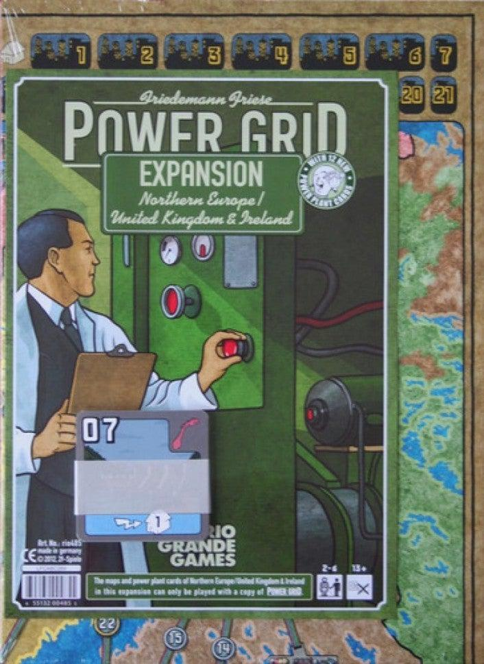Power Grid: Northern Europe / UK-Rio Grande Games-Game Kings