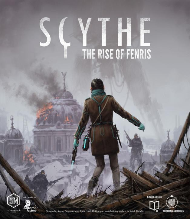 Scythe - The Rise of Fenris-Stonemaier Games-Game Kings
