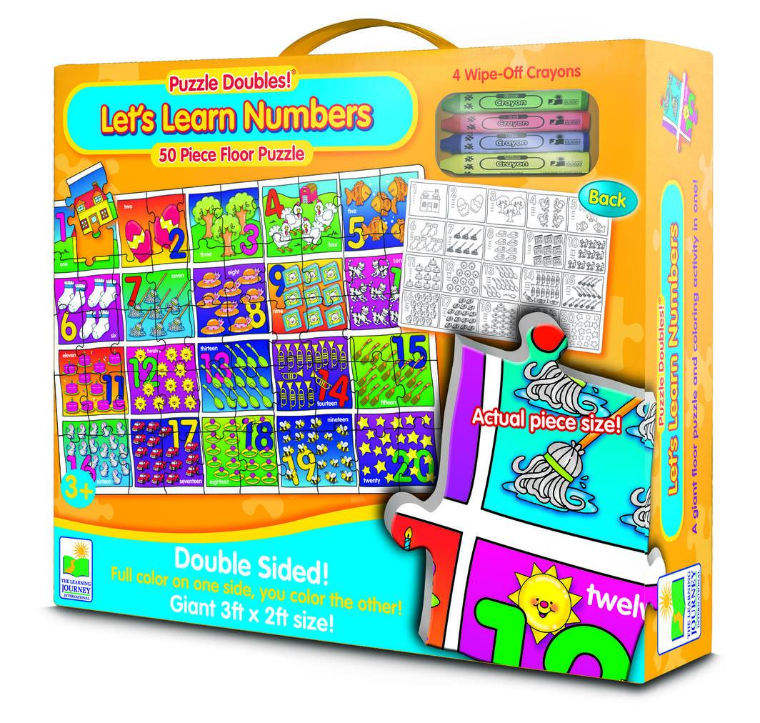 Let's Learn Numbers | 50pc Puzzle-The Learning Journey-Game Kings