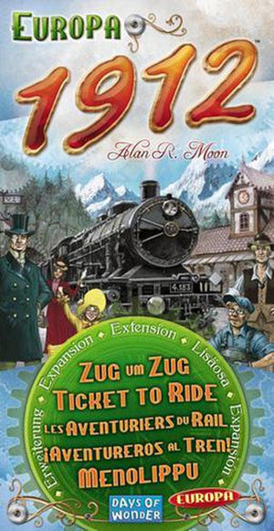 Ticket to Ride: Europa 1912 - Expansion