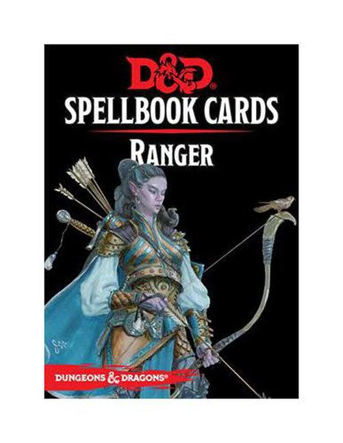 D&D Spellbook Cards: Ranger Deck (46 Cards)-Dungeons & Dragons-Game Kings