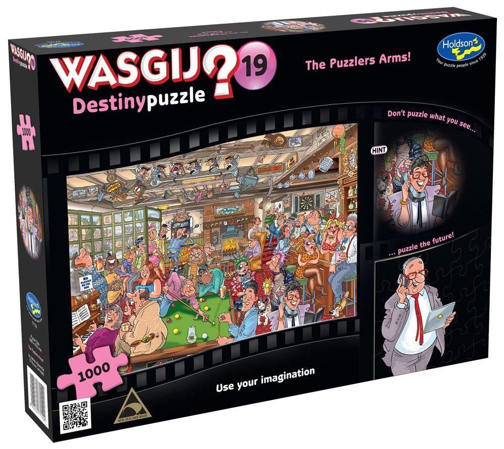 Wasgij Destiny 19 - The Puzzlers Arms | 1000pc-Game Kings-Game Kings