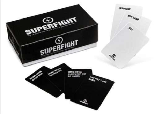 SUPER FIGHT 500-Card Core Deck-Superfight-Game Kings