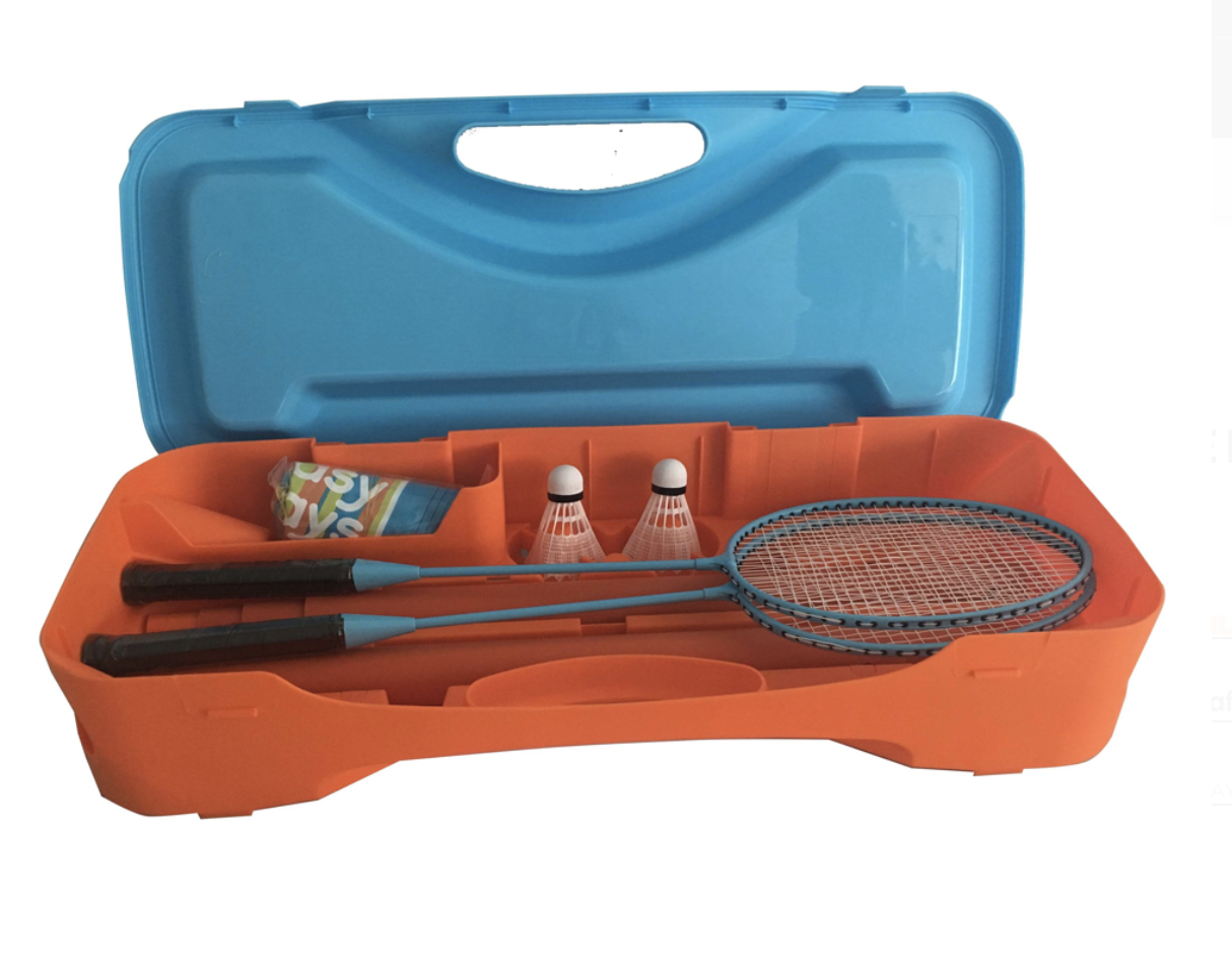 Portable Badminton Set 3m Net-Easy Days-Game Kings