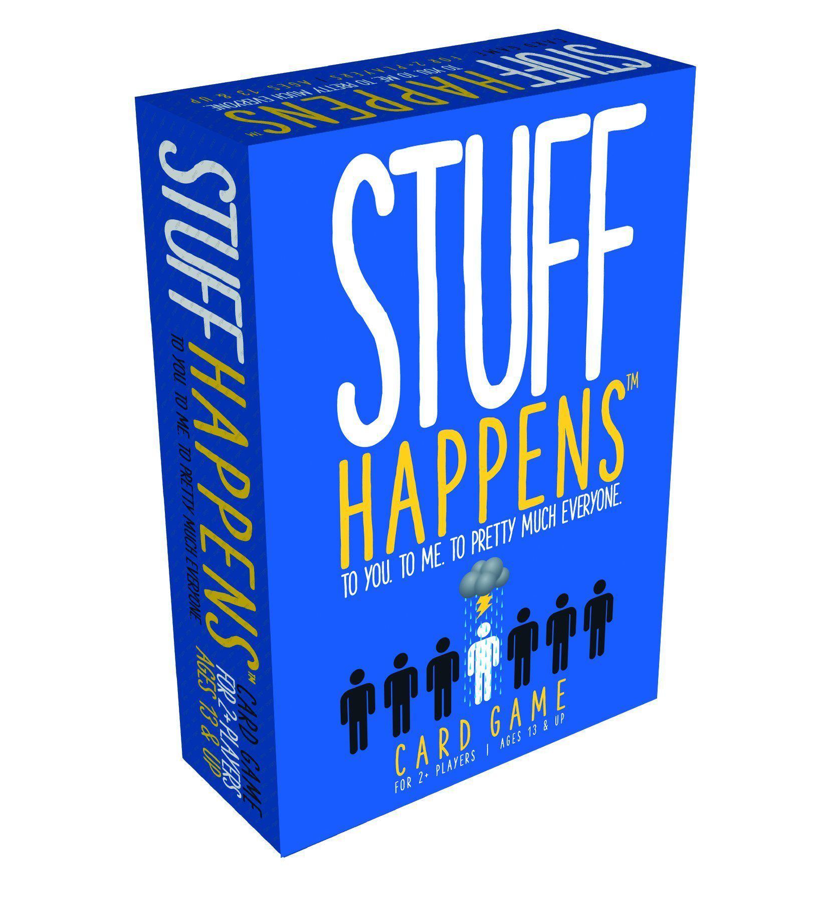 Stuff Happens-Goliath Games-Game Kings