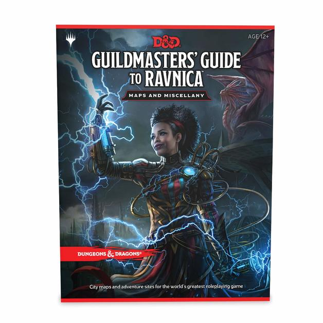 Dungeons & Dragons: Guildmasters' Guide to Ravnica Maps & Miscellany-Dungeons & Dragons-Game Kings