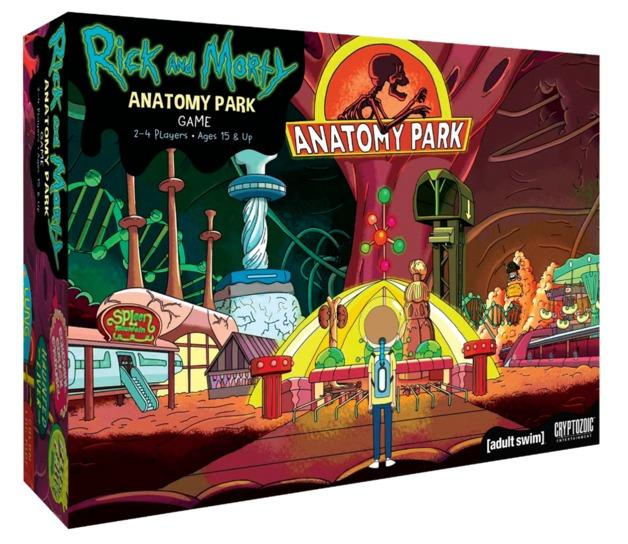 Rick and Morty - Anatomy Park-Cryptozoic-Game Kings