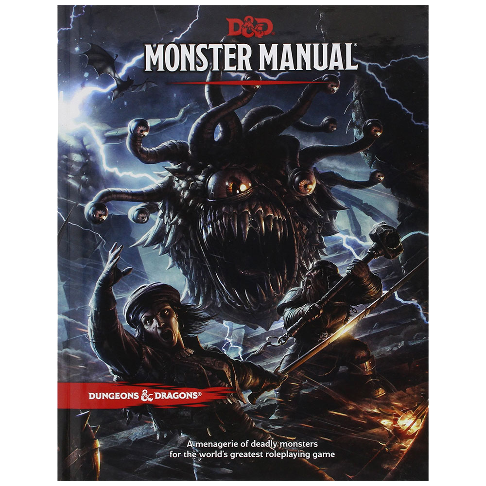 D&D Book - Monster Manual-Dungeons & Dragons-Game Kings