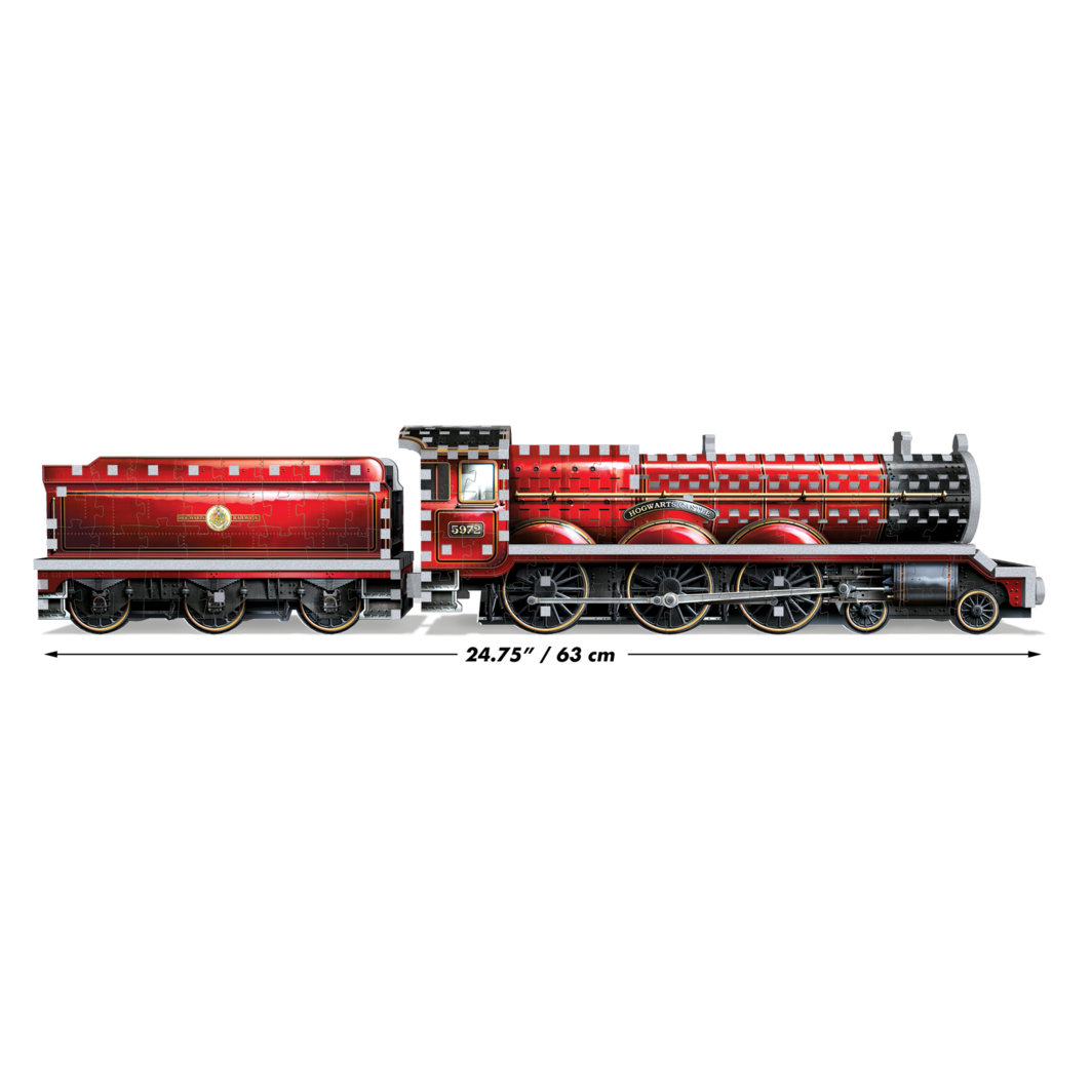 Harry Potter: Hogwarts Express, 3D, 460pc-Harry Potter-Game Kings