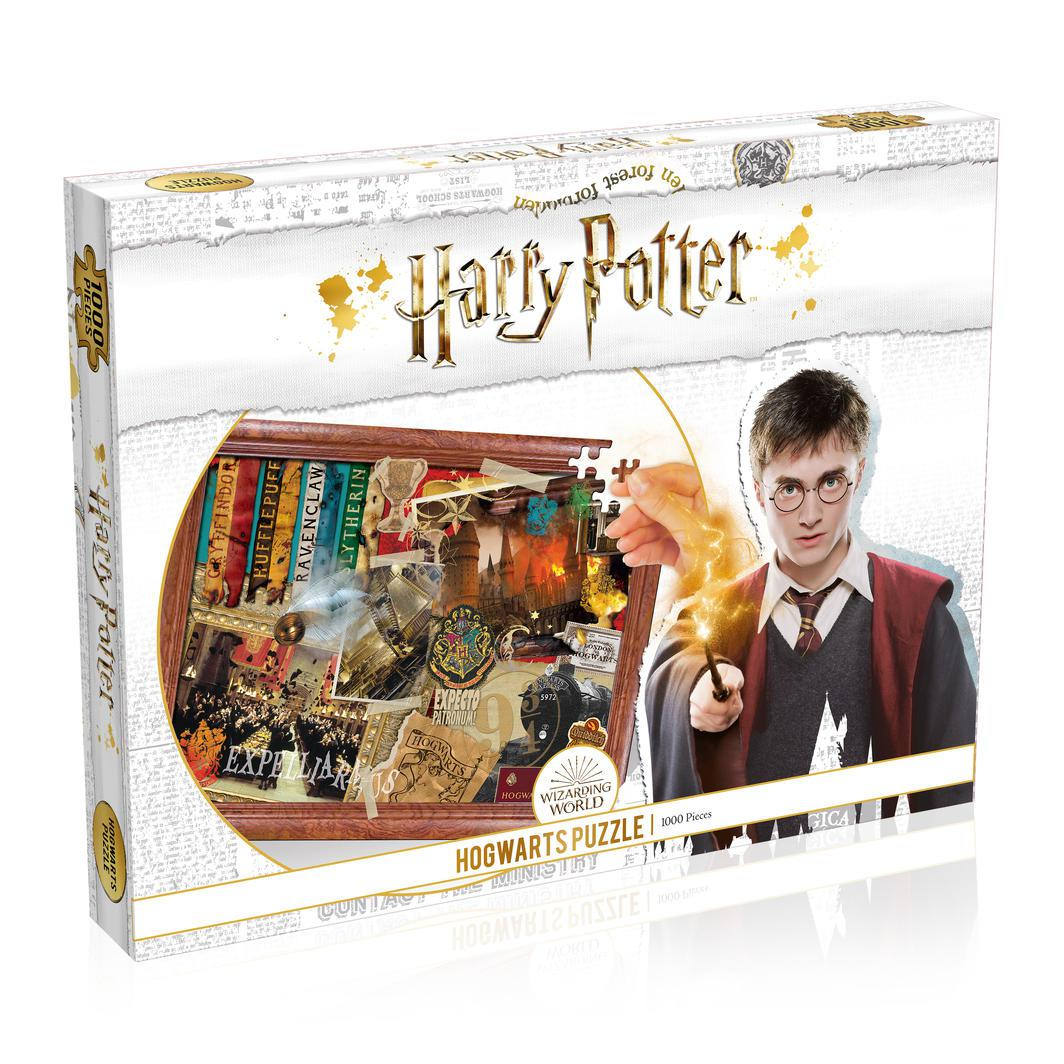 Harry Potter Hogwarts Puzzle | 1000pc-Harry Potter-Game Kings