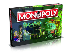 Rick and Morty Monopoly - Game Kings
