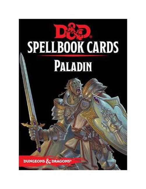 D&D Spellbook Cards - Paladin-Dungeons & Dragons-Game Kings