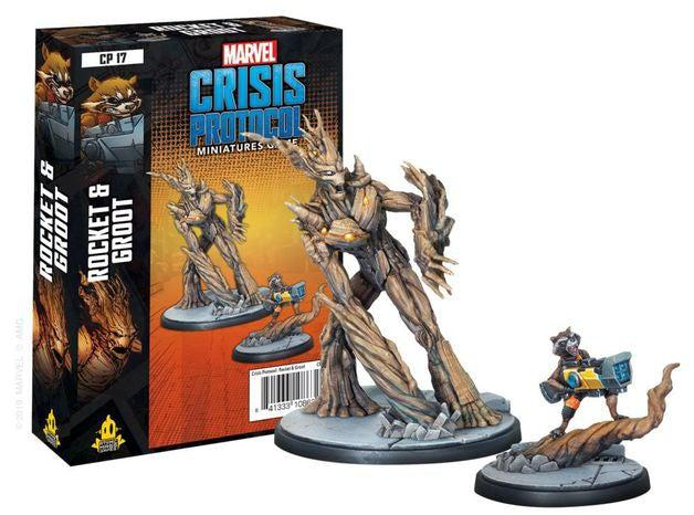 Marvel Crisis Protocol Rocket and Groot Character Pack-Marvel-Game Kings