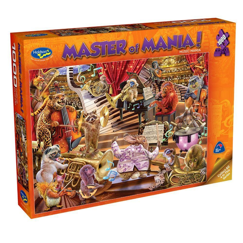 1000pc Puzzle - Music Mania-Holdson's-Game Kings
