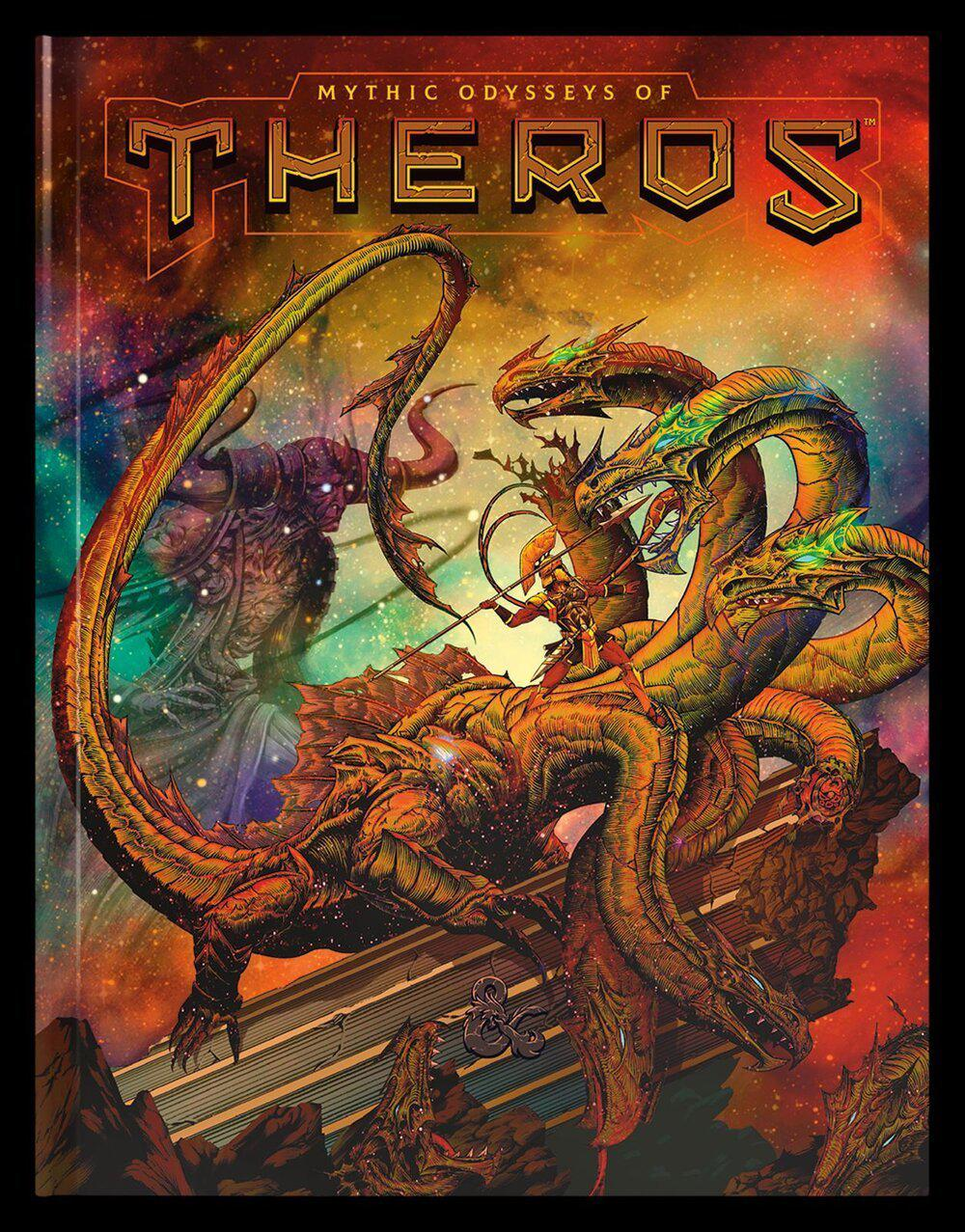 Dungeons & Dragons Mythic Odysseys of Theros - Alternate Cover-Wizards of the Coast-Game Kings