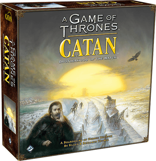A Game of Thrones Catan - Brotherhood of the Watch-Fantasy Flight Games-Game Kings