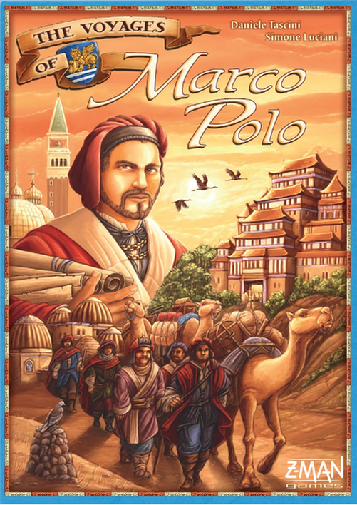 The Voyages of Marco Polo-Z-Man Games-Game Kings