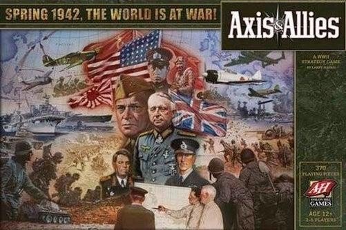 Axis & Allies - 1942-Wizards of the Coast-Game Kings