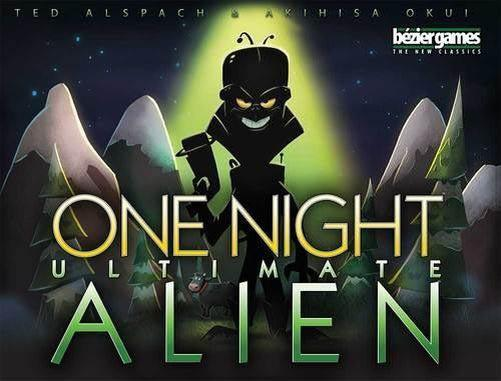 One Night Ultimate Alien-bezier games-Game Kings