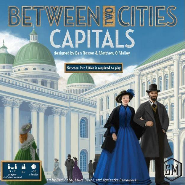 Between Two Cities Capitals-Stonemaier Games-Game Kings