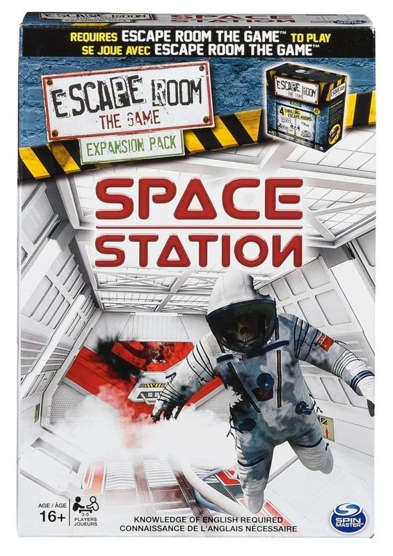 Escape Room the Game - Space Station-Spin Master Games-Game Kings