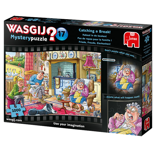 Wasgij Mystery 17 - Catching a Break | 1000 pc-Holdson's-Game Kings