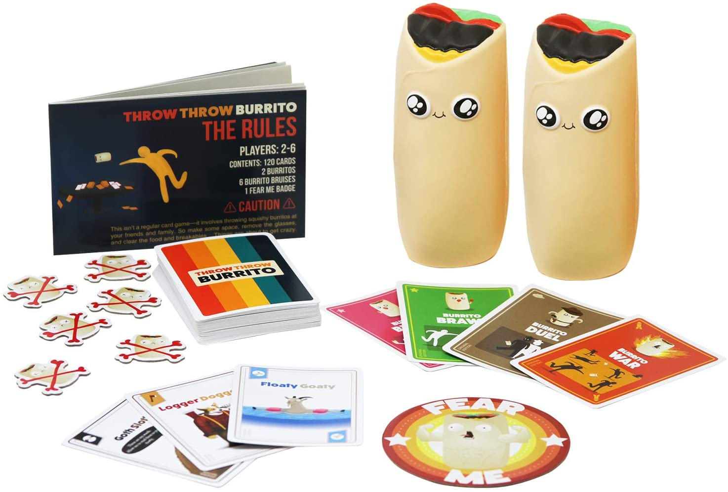 Throw Throw Burrito-Exploding Kittens-Game Kings