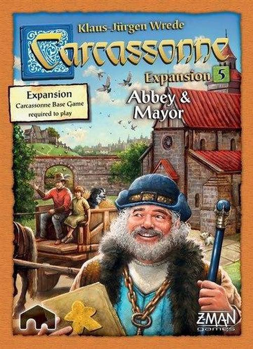 Carcassonne - Abbey & Mayor Expansion-Rio Grande Games-Game Kings