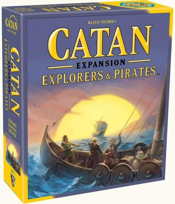 Catan - Explorers & Pirates Expansion-Catan Studio-Game Kings